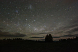 The night sky in Tekapo