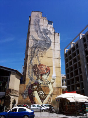Amazing Graffiti in Thessaloniki