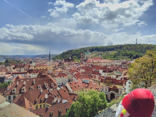 @travellingjack checking out the Prague skyline